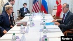 John Kerry dhe Sergei Lavrov