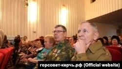 Збори, присвячені військово-патріотичному вихованню молоді, Керч, 24 листопада 2017 рік