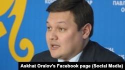 Заместитель акима Павлодарской области Асхат Оралов.