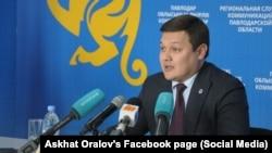 Павлодар облысы әкімінің орынбасары Асхат Оралов