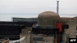 Фламанвиль атом электр станциясы. Франция, 9 ақпан 2017 жыл.