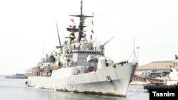 Італійський корабель, який зайшов в іранський порт, 24 вересня 2016 року