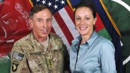 General David Petraeus i Paula Broadwell