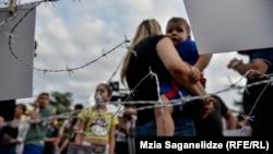 Stop Rusiji - protesti protiv 10-ogodišnje ruske okupacije Gruzije