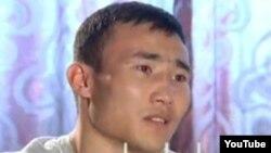 Қазақ боксшысы Қанат Ислам. (YouTube видеосынан алынған скриншот)