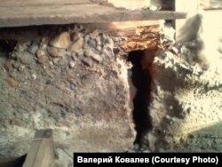 Дом Валерия Ковалева из села Гадалей после наводнения