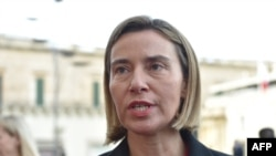 European Union foreign affairs chief Federica Mogherini (file photo)