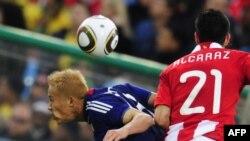 Детаљ од натпреварот Парагвај- Јапонија