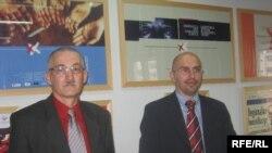 Stanko Zadro i Zoran Šangut, Foto: Radovan Borović