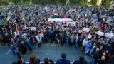 Azerbaijan - opposition rally in Baku