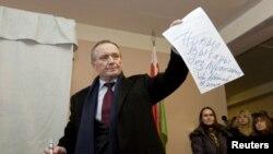 Владимир Некляев давно находится в оппозиции действующему президенту Белоруссии