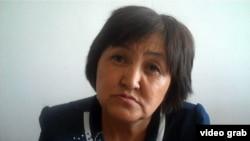 Света Кошербаева, сотрудник отдела образования Талгарского района Алматинской области. 5 сентября 2014 года.