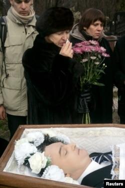 Похороны Сергея Магнитского