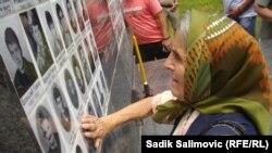 Obilježavanje godišnjice stradanja Srba u selu Zalazje kod Srebrenice, 12. juli 2013.