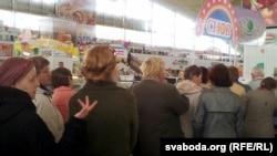 Чарга за таньнейшым мясам на Камароўцы