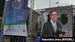 Pirkka Tapiola la Chișinău de Ziua Europei