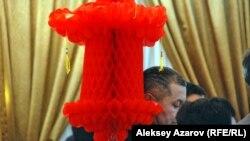 Празднование китайского Нового года в Алматы. 7 февраля 2013 года.