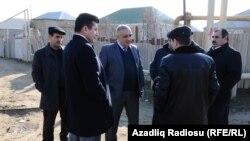 """""""Azərsu"""" əməkdaşları Zabratda"""