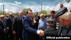 Վրաստանի վարչապետ Իրակլի Ղարիբաշվիլին այցելում է շրջաններ, մայիս, 2014թ․