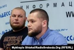 Демьян Ганул і Олександр Дроздов