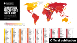Mapa korupcije u svijetu