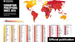2015 йилги коррупция харитаси.
