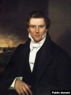 Основатель мормонской церкви Джозеф Смит