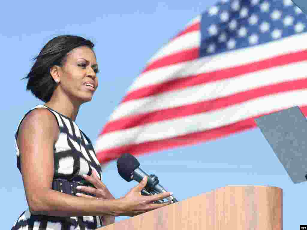 8. АКШның Беренче ханымы Мишель Обама (47)