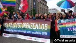 Protest împotriva homofobiei, Berlin, 2016