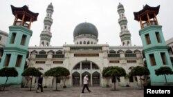 Одна из мечетей в Китае. Иллюстративное фото.