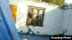 Ağdamın Çəmənli kənd sakini Arif Quliyevin evi