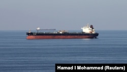 Oil tankers pass through the Strait of Hormuz, December 21, 2018. FILE PHOTO