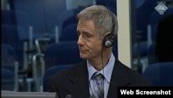Thomas Parsons svjedoči na suđenju Ratku Mladiću, 9. srpanj 2013.