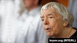 Людмила Алексеева, участница диссидентского и правозащитного движений в СССР и в России, фото 2012 года