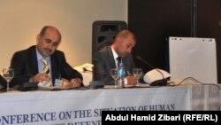جانب من مؤتمر الدفاع عن المدافعين عن حقوق الإنسان في أربيل