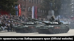 Парад войск Хабаровского гарнизона в 2016 году