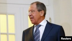 Министр иностранных дел России Сергей Лавров.
