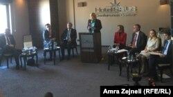 Kako su rekli ambasadori, samo njihovo okupljanje govori koliko su oni zabrinuti nivoom korupcije na Kosovu
