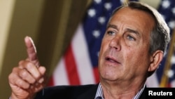 John Boehner, the speaker of the U.S. House of Representatives