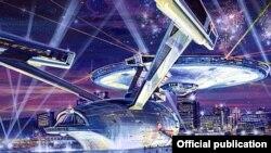 Проект развлекательного комплекса Starship Enterprise (Goddard Group)