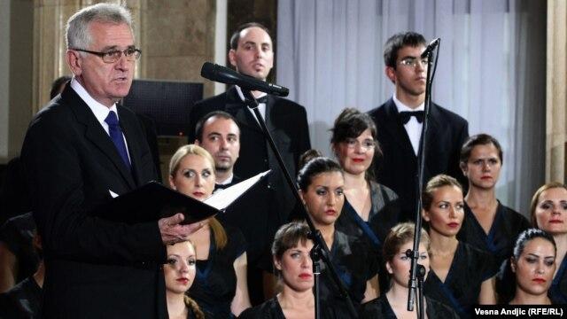 Tomislav Nikolić tokom inauguracije, 11. jun 2012.