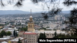A view of the Georgian capital, Tbilisi, where many Russian dissidents have now found a home. (file photo)