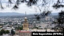 Georgia -- View, City. Town. Tbilisi, 11Sep2019