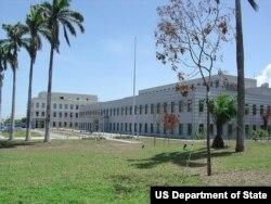 Настоящее посольство США в Гане