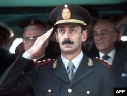 Бывший диктатор Аргентины Хорхе Рафаэль Видела, конец 1970-х годов