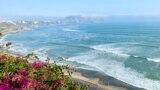 Пустынная Лима. Вид на Тихий океан и пляжи. 14 мая 2020 года
