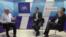 Vlad Bercu, Ion Muntean și Ruslan Surugiu la dezbaterea de la Chișinău