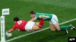 جام جهانی راگبی، ولینگتون نیوزیلند، ۸ اکتبر ۲۰۱۱.