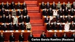 სი ძინპინი და ჩინეთის ლიდერები