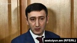 Депутат фракции «Мой шаг», председатель парламентской комиссии по экономическим вопросам Бабкен Тунян, Ереван, 11 февраля 2019 г.